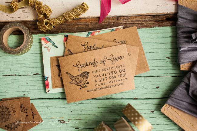 Garlands of Grace Gift certificate -1