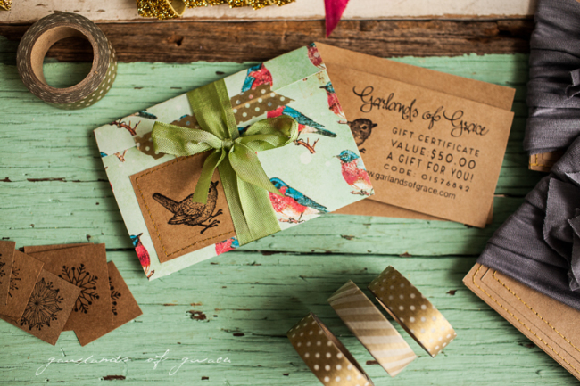 Garlands of Grace Gift certificate -4