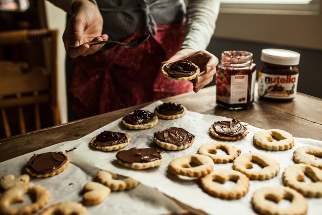 Raspberry Nutella Cookies Garlands of Grace-13