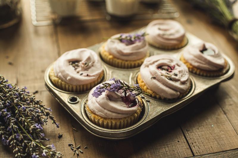 Garlands of Grace Lavender Lemon cupcakes 13
